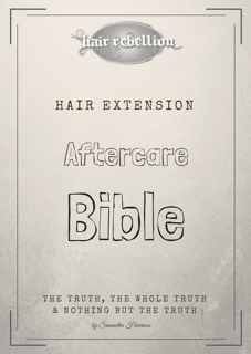 Hair Rebellion Aftercare Bible