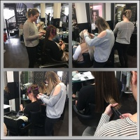 In Salon Hair Extensions Training
